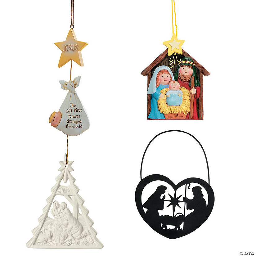 Religious Christmas Ornaments Religious Christmas Tree: Religious Christmas Ornament Assortment