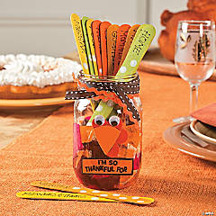 Turkey Mason Jar Idea