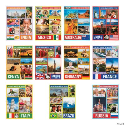 Cultures Around the World Posters