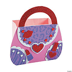 Purse Valentine Card Holder Craft Kit