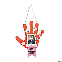 Valentine Handprint Picture Frame Ornament Craft Kit