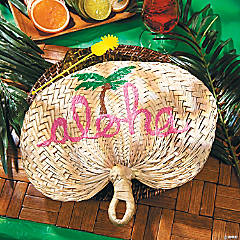 Raffia Ran Tablesetting Idea