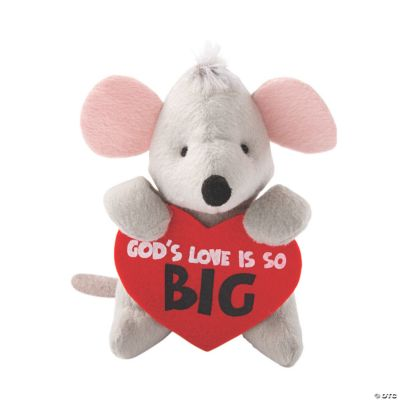 Plush God's Love Is So Big Mice