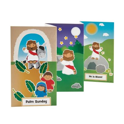 Holy Week Sticker scene setters