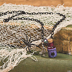 Witch Potion Bottle Necklace Idea