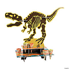 Dino Dig Party Treat Stand with Cones