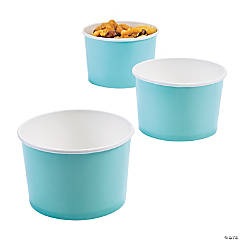 Light Blue Snack Cups