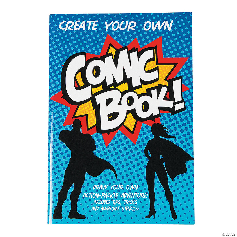 Your Own Comic Book Activity Pads
