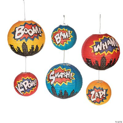 Superhero Paper Lanterns