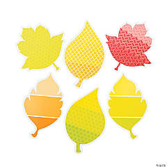 Painted Pallette™ Leaves Bulletin Board Cutouts