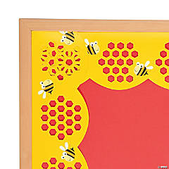 Jumbo Honeycomb Stencil-Cut Bulletin Board Borders