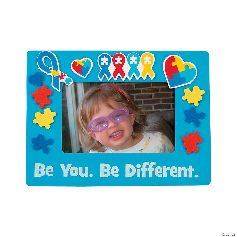 Autism Awareness Picture Frame Magnet Craft KIt