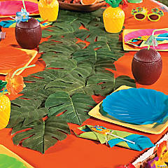 Luau Leaf Table Runner Idea