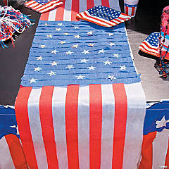 American Flag Table Runner Idea