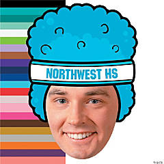 Custom Photo Basketball Spirit Rally Head