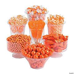 Orange Candy Buffet Assortment
