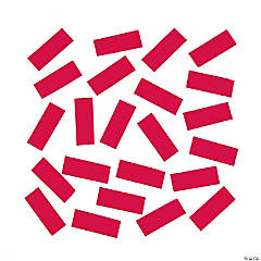 Red Tissue Paper Confetti