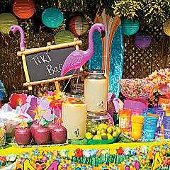 Backyard Luau Party Supplies