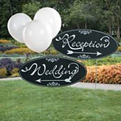 Wedding Decorations - Yard Signs