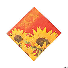 Sunflower Style Luncheon Napkins