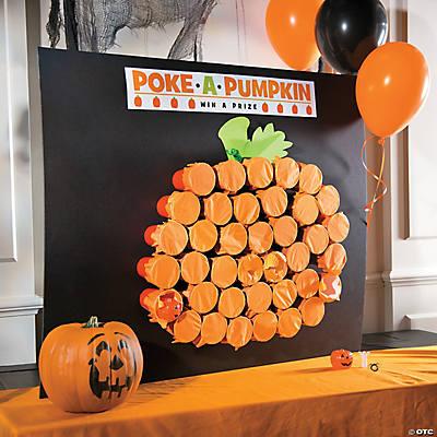 Classic Halloween Poke a Pumpkin Game Idea Decorating Ideas Ideas