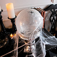 Haunted Mansion Spider Web Balloon Décor Idea