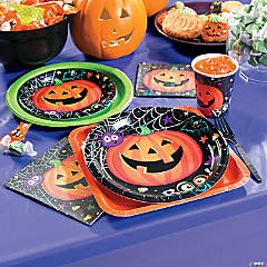 Pumpkin Tapestry Party Supplies