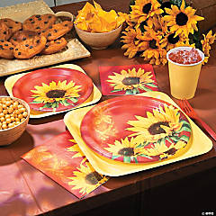 Sunflower Style Party Supplies
