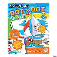 MindWare® Extreme Dot to Dot Stickers - Coloring Book 2
