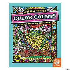MindWare® Color Counts - Adorable Animals Coloring Book
