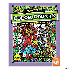 MindWare® Color Counts - Fairy Tales Coloring Book