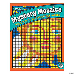 MindWare® Mystery Mosaics - Coloring Book 1