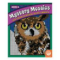 MindWare® Mystery Mosaics - Coloring Book 1
