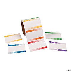 Paint Chip Name Tags/Labels