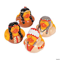 Native American Rubber Duckies