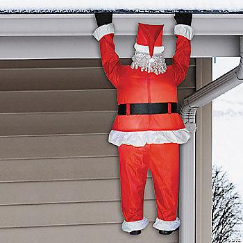 Airblown Hanging Santa Inflatable