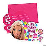 Barbie™ Sparkle Invitations