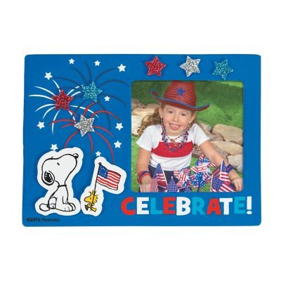 DIY peanuts July 4th Patriotic picture frame craft kit