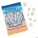 Sea Shell Candy Fun Packs