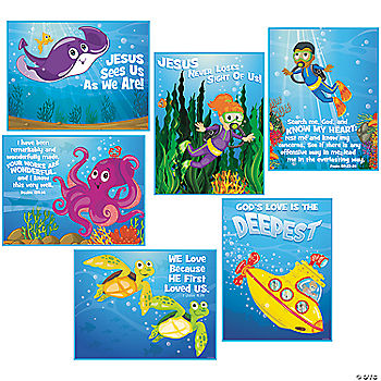 under the sea poster set oriental trading discontinued