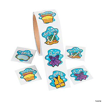 Under The Sea Stickers Oriental Trading Discontinued