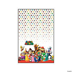 Plastic Super Mario Brothers™ Tablecloth