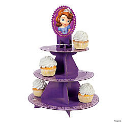 Cardboard Sofia the First Treat Stand
