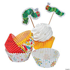 Eric Carle's The Very Hungry Caterpillar™ Cupcake Liners with Picks