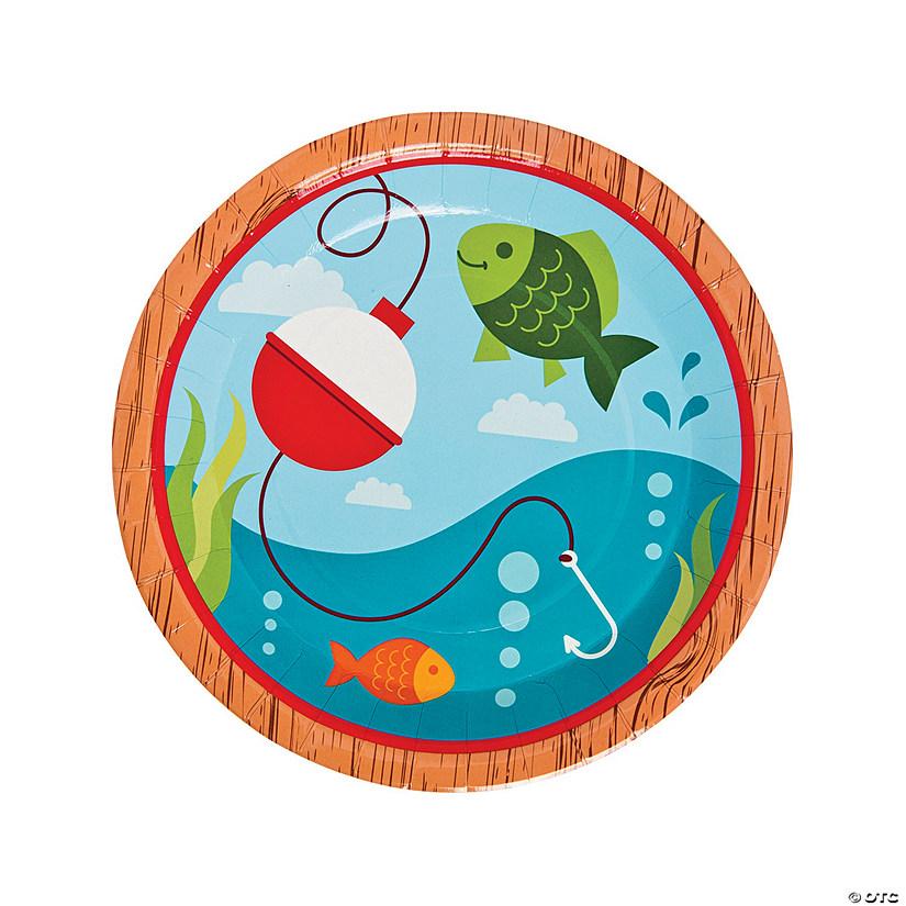 sc 1 st  Oriental Trading & Little Fisherman Paper Dinner Plates
