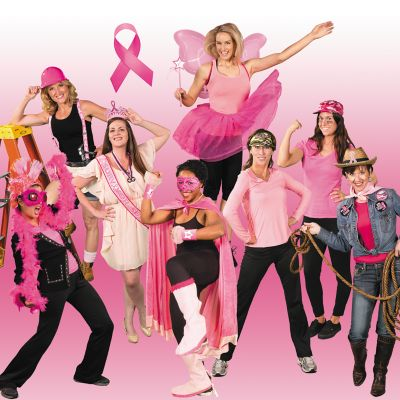 Pink Ribbon Costume Ideas