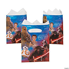 Plastic Star Wars™ VII Treat Bags