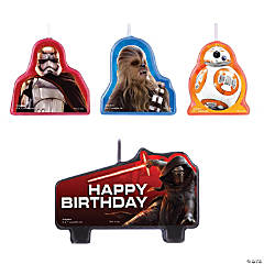 Star Wars™ VII Birthday Candle Set