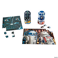 Star Wars™ Bullet Shaped Container with Puzzle