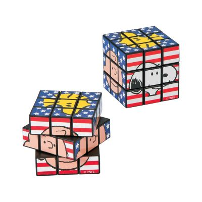 Peanuts Patriotic magic cube puzzles